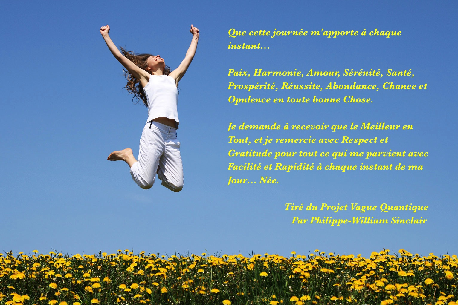 Super Pensées positives Citations - DJ76