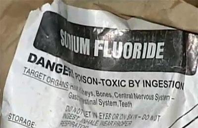 danger fluorure PHILIPPE-WILLIAM SINCLAIR
