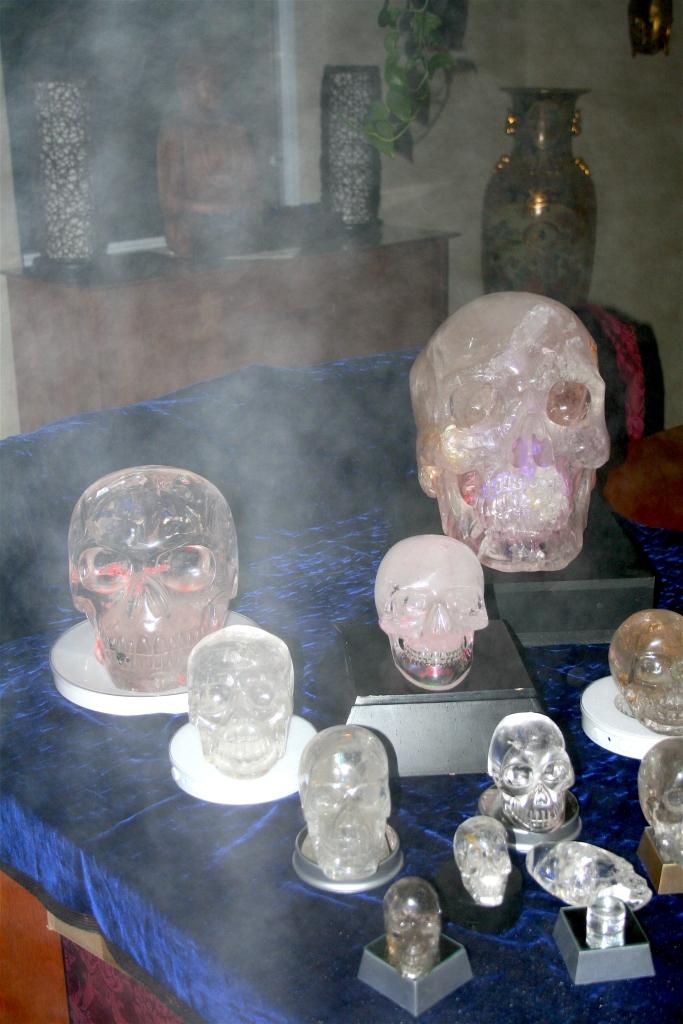 Crystal Skulls orbs Philippe-William Sinclair