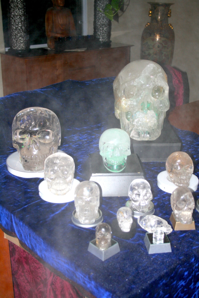 Crystal Skulls strange Philippe-William Sinclair