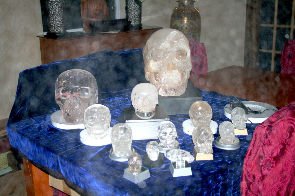 Crystal Skulls 2  Philippe-William Sinclair