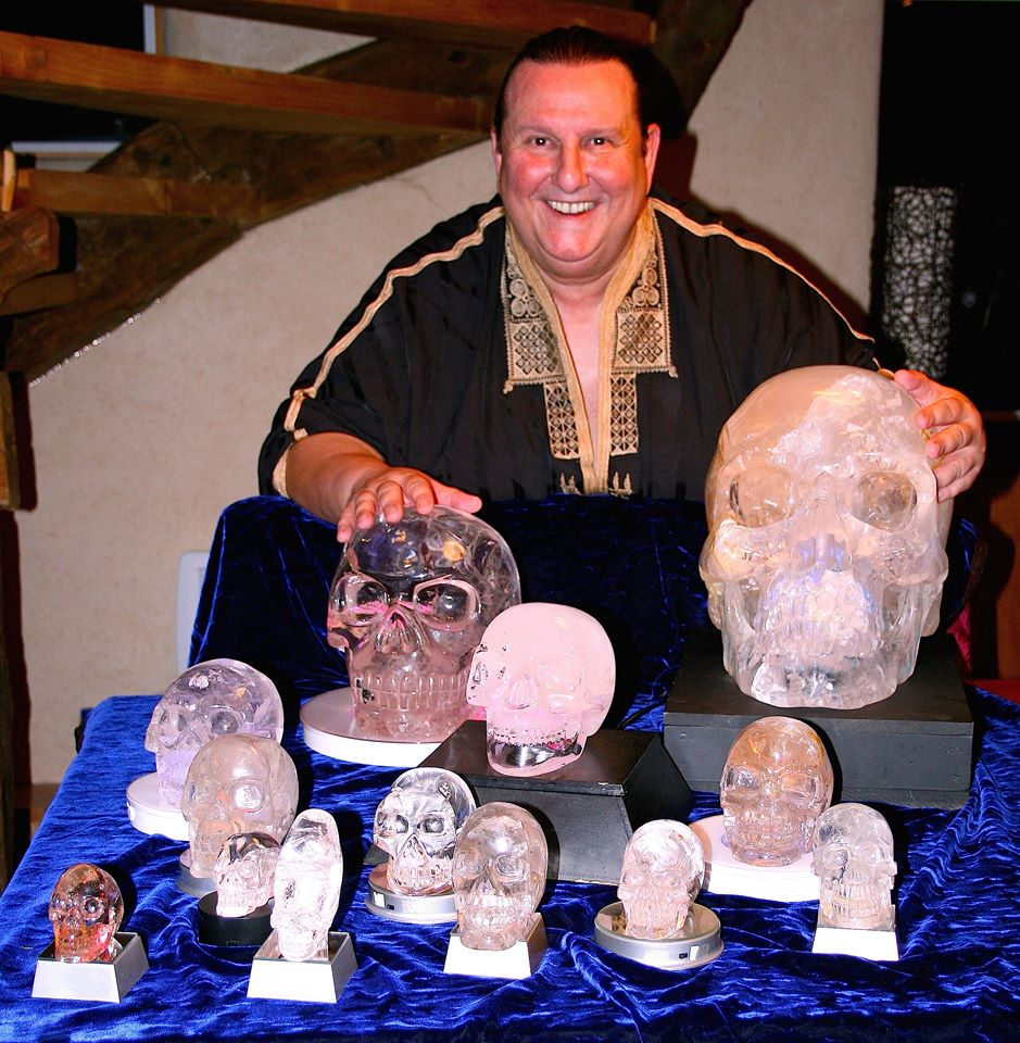 Me and ma crystal skulls family
